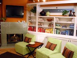 Orange Decorating For Living Room Color Trends Decorating With Orange Diy