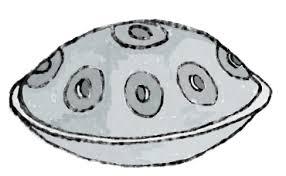ハンドパン 無料イラスト素材素材ラボ