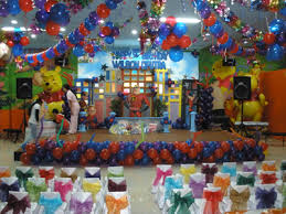 how to decorate birthday party at home kids art decorating ideas