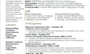 Medical Billing And Coding Resume Sample Billing And Coding Resume ...