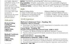 Medical Billing And Coding Resume Sample Billing And Coding Resume ...