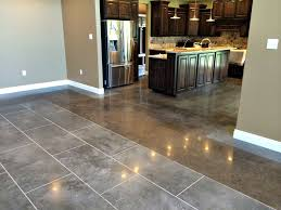Stained Concrete Kitchen Floor Stained Concrete Epoxy Flooring Little Rock Fort Smith Arkansas