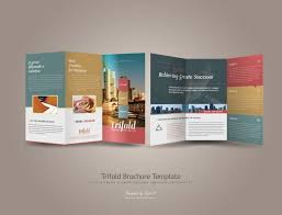 Presentation Trifold Product Presentation Brochure Template Proppers Info