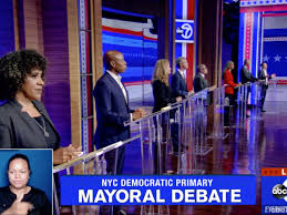 New york city's mayoral race primary is here. New York City Mayoral Candidates Go On The Attack In Latest Debate Wsj