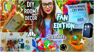 diy room decor fan edition life hacks tumblr inspired and