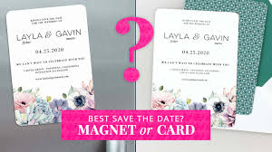 What Are Save The Date Cards Magnet Or Card For Your Save The Date Save The Date