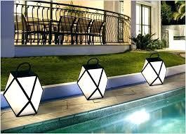 battery garden. solar garden lights bq battery powered outdoor full image for exterior motion sensor operated with