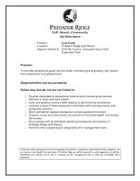 Line Cook Job Description Template Resume Duties Sample For Prep