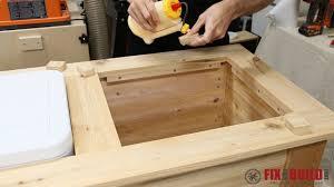 diy cooler box
