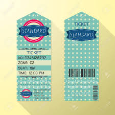 free ticket design template ticket design template retro style standard class royalty free