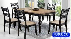 parfait dining table 4 chairs