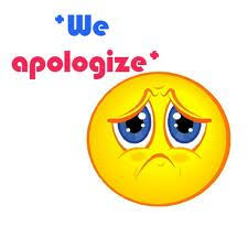 Image result for we apologize for any inconvenience
