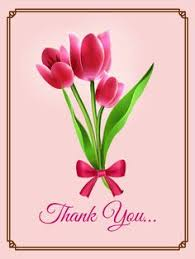 Thank you card images Christmas Pink Tulip Thank You Card Pink Tulip Thank You Card It Is Important To Remember Pinterest 48 Best Thank You Cards Images Thank You Cards Appreciation Cards