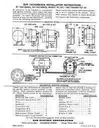 technical need help! wiring sun transmitter tach the h a m b sunpro super tach 2 manual at Sun Super Tach Ii Wiring Diagram
