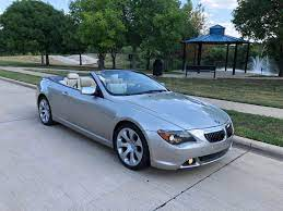 2005 Bmw 6 Series 645ci 2dr Convertible Allstar Imports Dealership In Kennedale