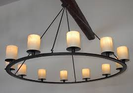 iron chandelier with candles image antique and candle victimist