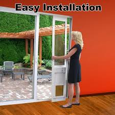 pet door fully automatic doors adapted for sliding glass with large dog rare image