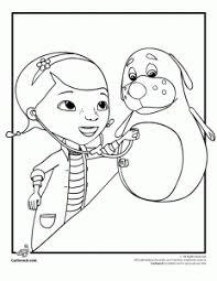 Doc Mcstuffins Coloring Pages Plus She Is A Great Role Model