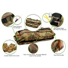 heavy duty weighted sandbags by garage fit