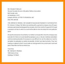 Academic Appeal Letter Interesting Student Appeal Letter For Financial Aid Letternewco