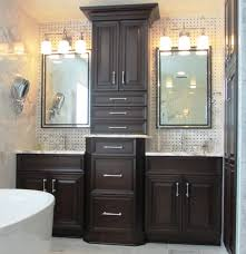 bathroom remodel maryland. New Market, MD Bathroom Remodel With Dark Cabinetry Maryland U