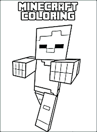 Printable Lego Minecraft Coloring Pages Free Coloring Pages Coloring