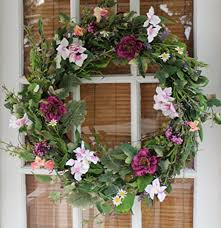 spring front door wreathsBeautiful Front Door Wreaths for Spring 2017  Essentially Mom