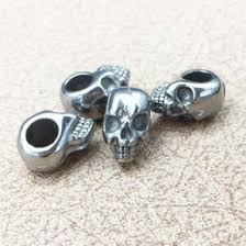 snless steel beads for jewelry making canada hot 316l snless steel punk style skull