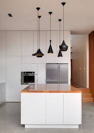 sydney push on light kitchen contemporary with extensions pendant lights white island