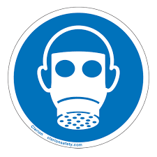 Wear Respiratory Protection Label Is6052