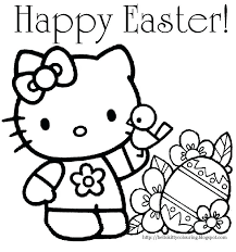 Coloring Easter Coloring Pages Disney