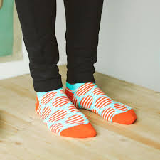 Модные дизайнерские короткие <b>носки</b> в горошек бирюзового и ...