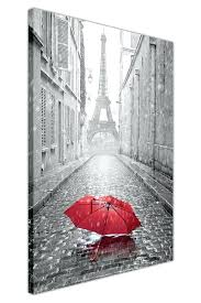 red and black canvas wall art black and white photo tower with red umbrella canvas wall  on canvas wall art black white with red umbrella 215 x 325 with red and black canvas wall art red and black wall art 3 piece canvas