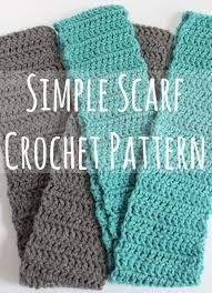 Easy Crochet Scarf Patterns Free