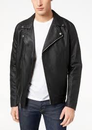calvin klein men s full zip wool moto jacket