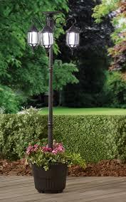 Fingerhut Mcleland Design Madison Solar Lamppostplanter