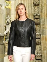 higgs leathers coco las cropped black leather jackets modern classic