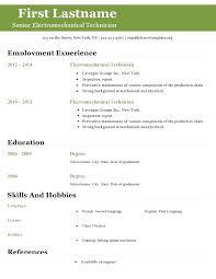 Open Office Resume Cover Letter Template Open Office Resume