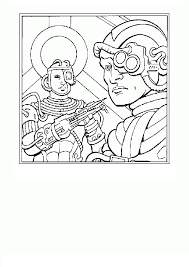 Coloring Page Tv Series Coloring Page Star Trek