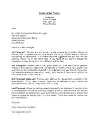 21 Infect T Format Cover Letter Sample Outline Vanyohy Bailbonds La