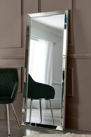 Full Size Mirror With Lights Next Mayfair Full Length Mirror By Gallery Silver Mirror