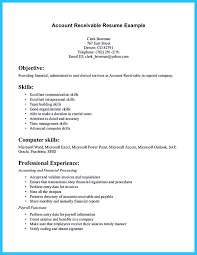 Resumes Accounts Receivable Resume Presents Both Skills And Also The