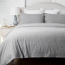 white cotton duvet cover king. Modren White Bedsure Cotton Duvet Cover King Size Grey Bedding 3 Pieces Duvets Covers  Sets 2 Pillow Shams In White I