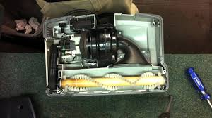 how to change the belt on an oreck upright vacuum cleaner
