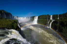 world cup the most beautiful places to in com the iguazu falls surrounded by lush forest and exotic wildlife are a set of