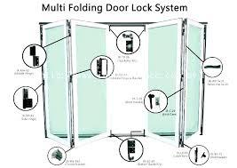 folding door lock folding door locks multi fold closet doors full image for multi folding door folding door lock