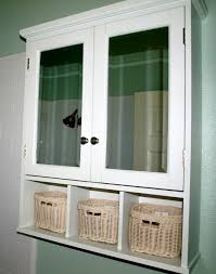 Over The Cabinet Basket Rattan Bathroom Storage Cabinets House Decor