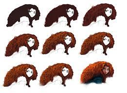 hair tutorial merida by ryky