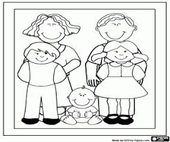 Kleurplaten Familie Kleurplaat