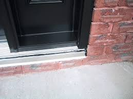 exterior door threshold install. replace exterior door threshold plate front lowes gasket ideal install h